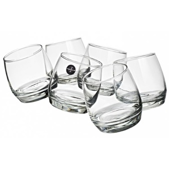 Club Whiskyglas 20cl 6-p rundad botten -