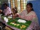 Fd barnhemsflickan Priya på besök
