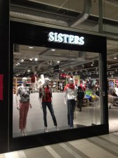 Butiksinredning Sisters