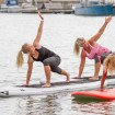 SUP yoga - Board yoga i Göteborg