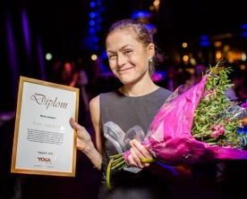 Maria Cerboni - Årets Yogalärare 2018  -  STRALA Yoga - Board Yoga - Aqua Yoga - SUP Yoga - Göteborg - Sverige