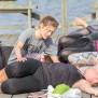 TRÄNINGSDAG - SÖNDAG 15 JULI  Ståpaddling , Löpning, Simning, Yoga