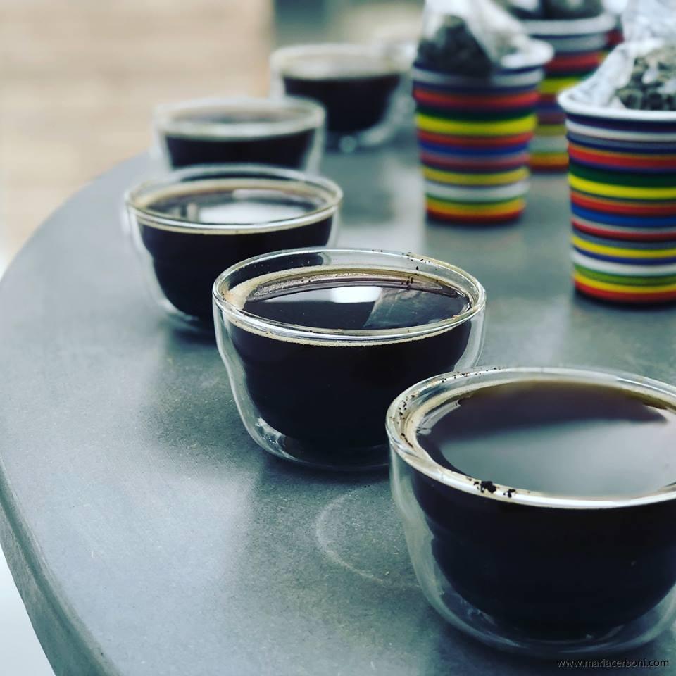 Yoga och Kaffeprovning