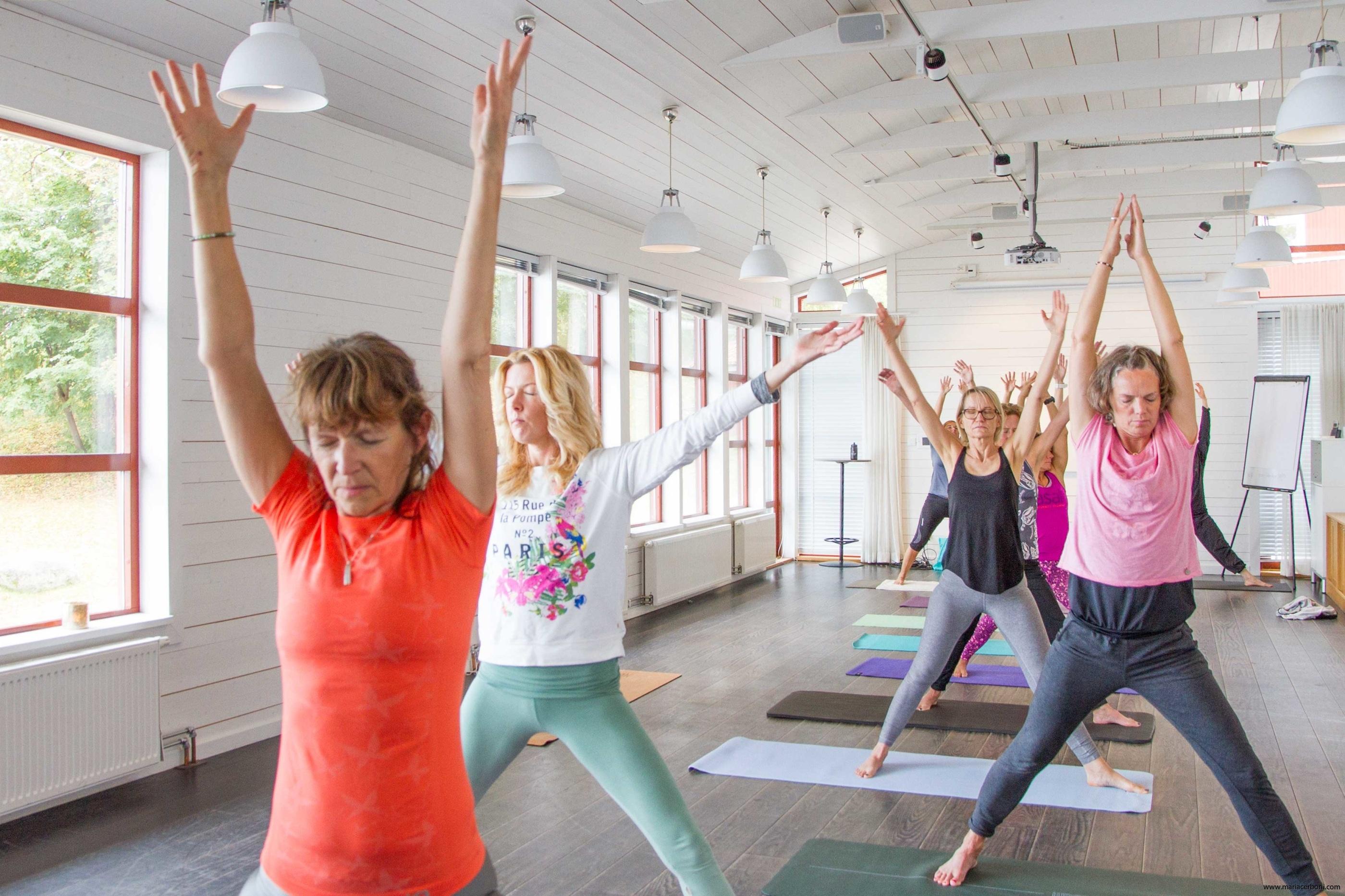 Yoga för folket! Yoga och kaffeprovning