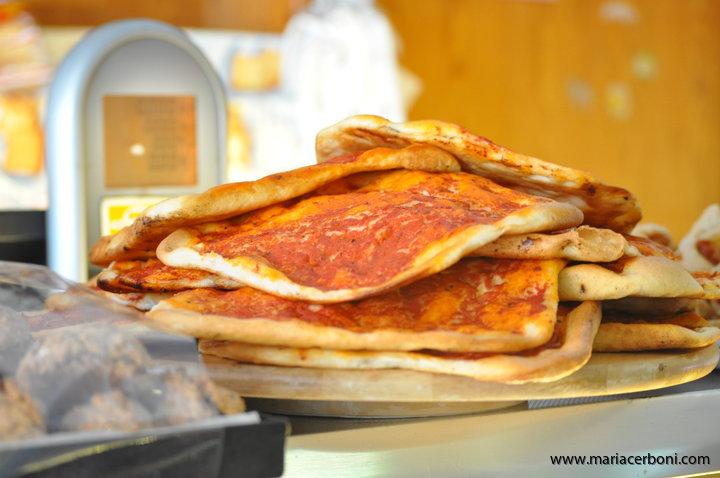 Pizza al taglio-Yogaresa till Rom