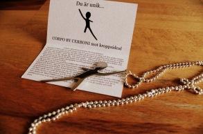 CORPO BY CERBONI - smycke - Corpo By Cerboni - Smycke i stål.