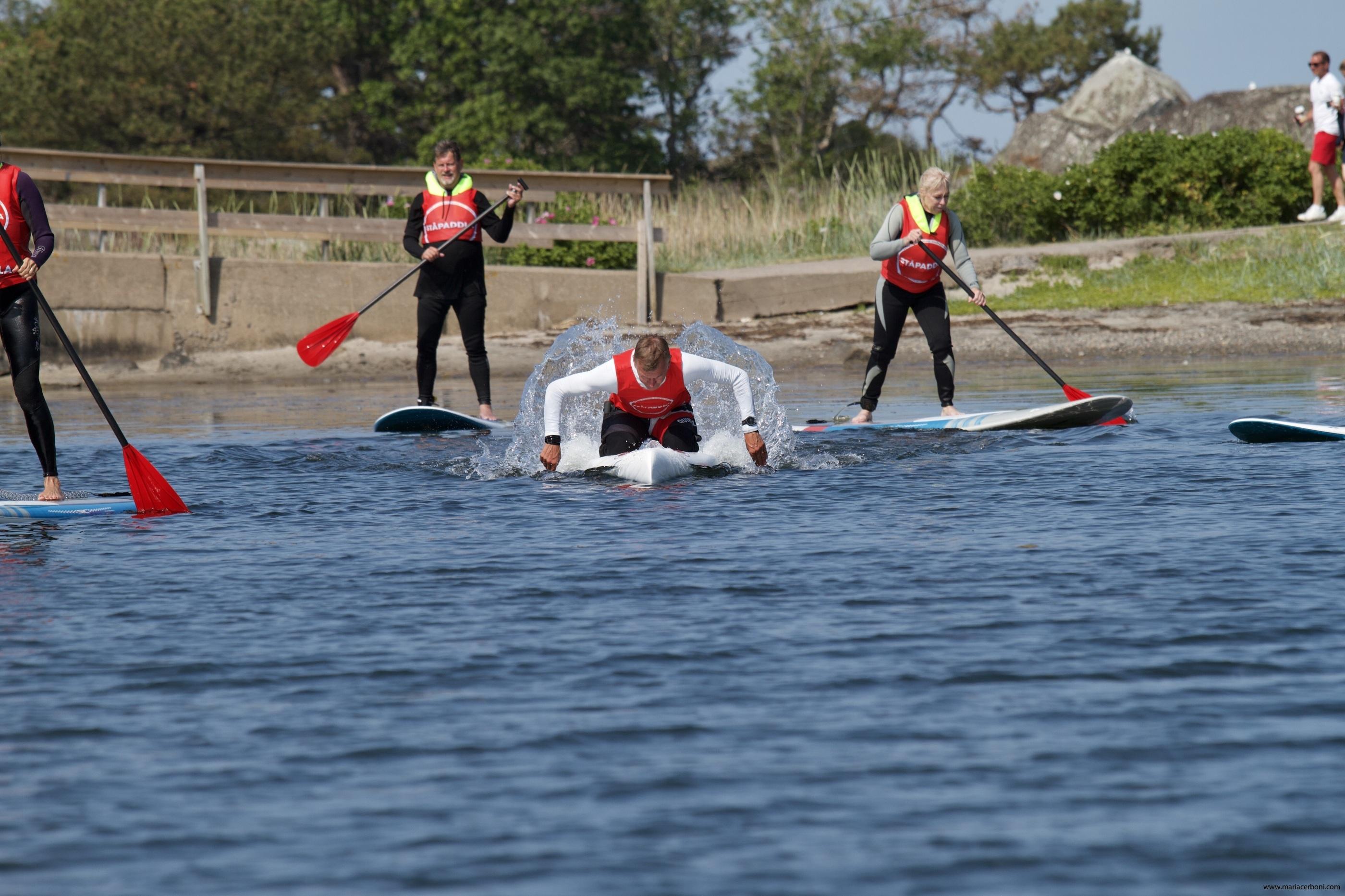 Turpaddling på SUP - Göteborg - Kungsbacka - Halland