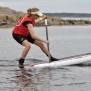 Turpaddling och teknikträning på SUP i Kungsbackafjorden