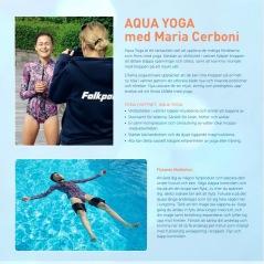 Aqua Yoga med Maria Cerboni