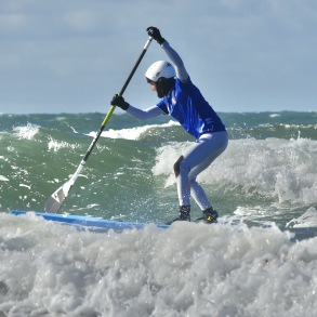 SUP SURF I APELVIKEN - VARBERG - SUP-SURF I VARBERG - FREDAG 11 JUNI