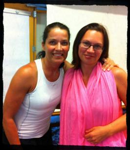 Min namne fina Agneta Sjödin som även hon föreläste under veckan i Spanien.