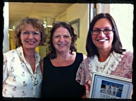 Ingela Gullberg, Pia Marie Keanius och jag vid min diplomering till Certifierad Coach.