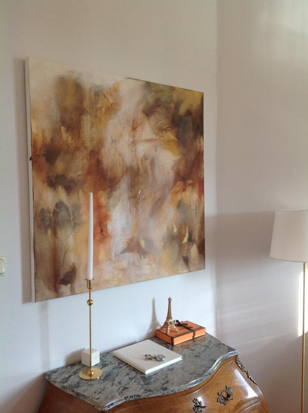 Golden autumn 100 x 100 cm 5500 kr