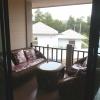 Balkongen i lägenhet