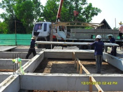 Betongplank i Thailand