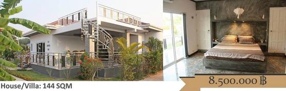 Hus i Rayong Thailand