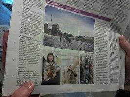 Från en av morgontidningarna