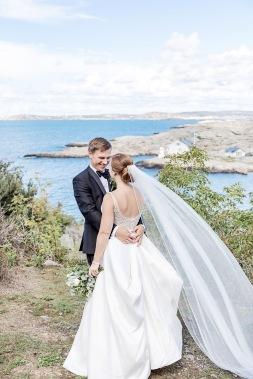 bröllopsfotograf göteborg, Åsa Lännerström, marstrand, marstrands kyrka, marstrands havshotell, marstrand utsikt, slöja, västkustbröllop, sommarbröllop, bröllopsporträtt, bröllop marstrand, marstrand bröllop, marstrand kyrka bröllop