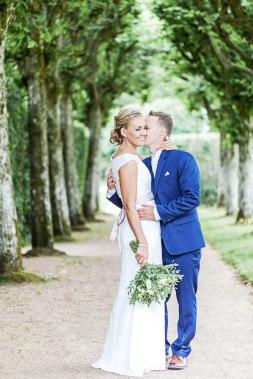 Bröllopsfotografering på Gunnebo slott och trädgårdar i mölndal. Bröllopsfotograf Åsa Lännerström