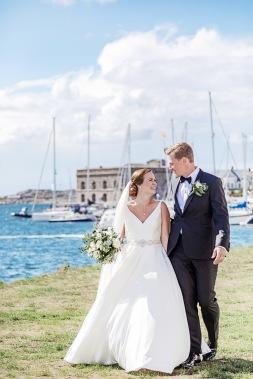 Bröllopsfotografering på marstrand. Bröllopsfotograf Åsa Lännerström