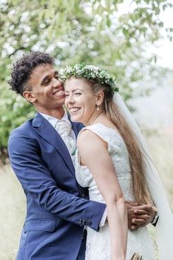 Bruöllopsfotografering i göteborgs botaniska trädgård porträtt. Bröllopsfotograf Åsa Lännerström