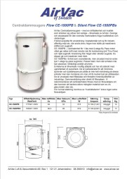Produktblad Flow 1500 & Silent Flow 1500