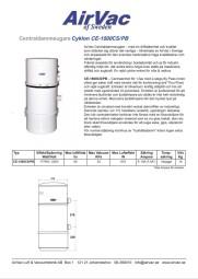 Produktblad Cyklon 1500