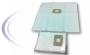 Dammpåse/Filterpåse 23L för Centraldammsugare, Microfiber, 2-pack