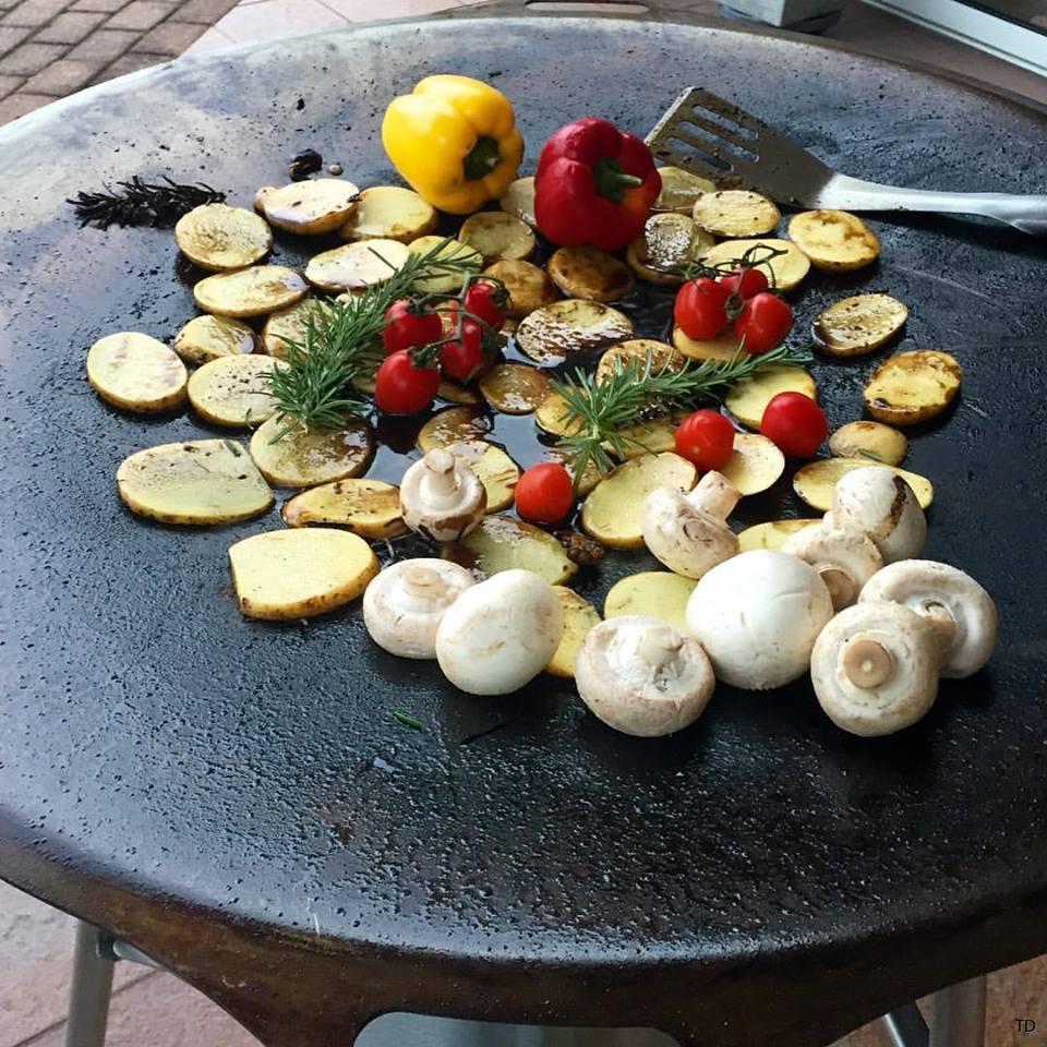 Stekhäll Grönsaker
