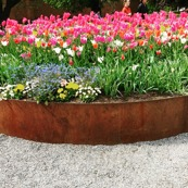 Corten Gräs/Rabatt kant 1,5 m