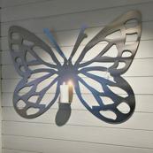 Fjäril rostfri
