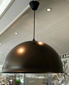 Lampa lackad aluminium