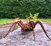 Spindel Trädgårdskonst