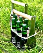 Flaskhållare 33-50cl x 6
