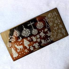 Nail Stamping -Merry Christmas- - SPH-001