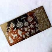 Nail Stamping -Merry Christmas-