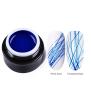 Spider gel - Mörkblå