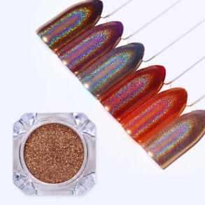 "Rainbow powder ""Gold"""
