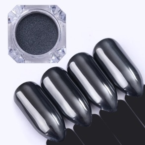 "Mirror powder ""Black Pearl"""