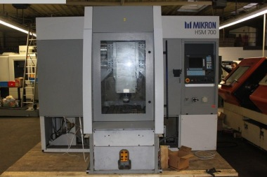 High speed milling machine, HSM for flow plates