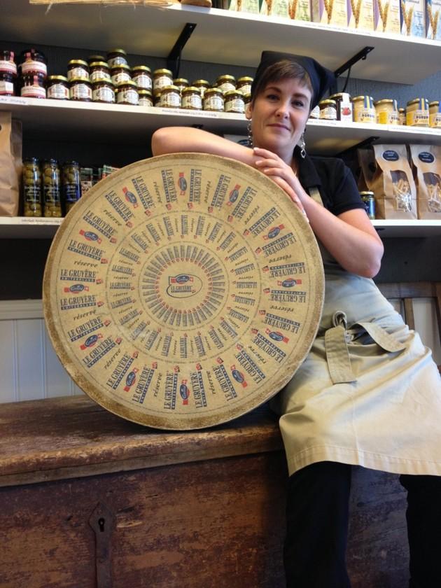 Ett praktexemplar på god ost
