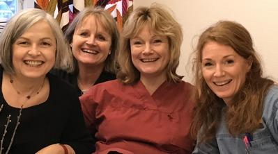 Margit, Marie, Christina & Ann