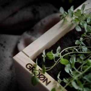 Gröøn modulär odlingslåda