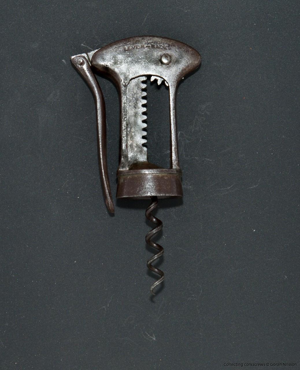 Other mechanisms | British mechanical corkscrews