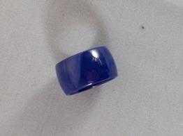Ring i keramik,blå - Ring i keramik st 6