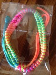 Armband i tyg - Armband i tyg Regnbågsfärg