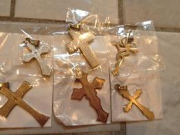 Blandade hängen kors -