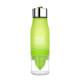 Vattenflaska med fruktpress - Vattenfl m fruktpress Grön