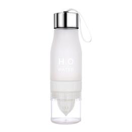 Vattenflaska med fruktpress - Vattenfl m fruktpress Vit