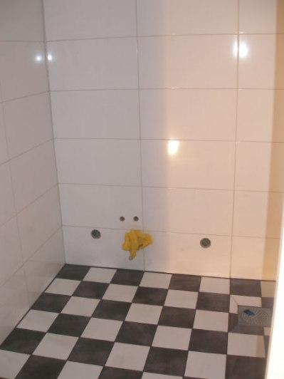 Plattsättning av badrum